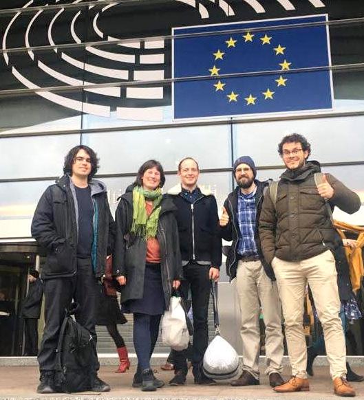 L'équipe à Bruxelles - CCL France - Lobby climatique citoyen