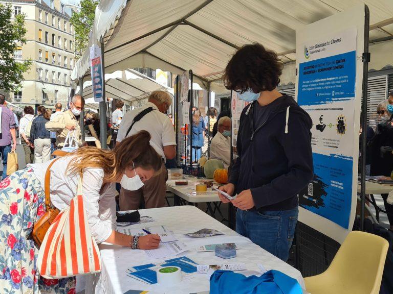 Fête de la vie associative et citoyenne - CCL France - Lobby climatique citoyen